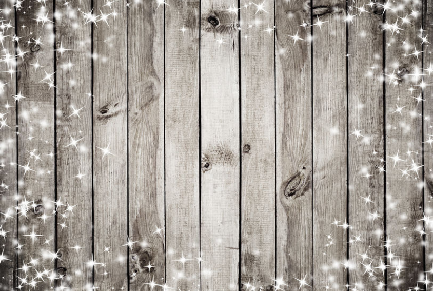 Wood with Starlight Backdrop