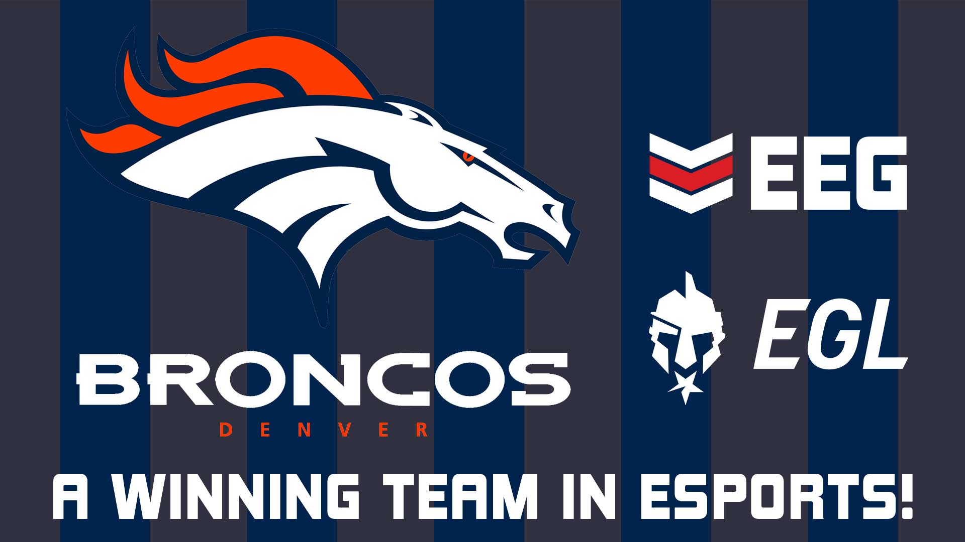 Denver Broncos Sign Esports Entertainment Group as its Esports Tournament Club Provider in Multi-Year Deal