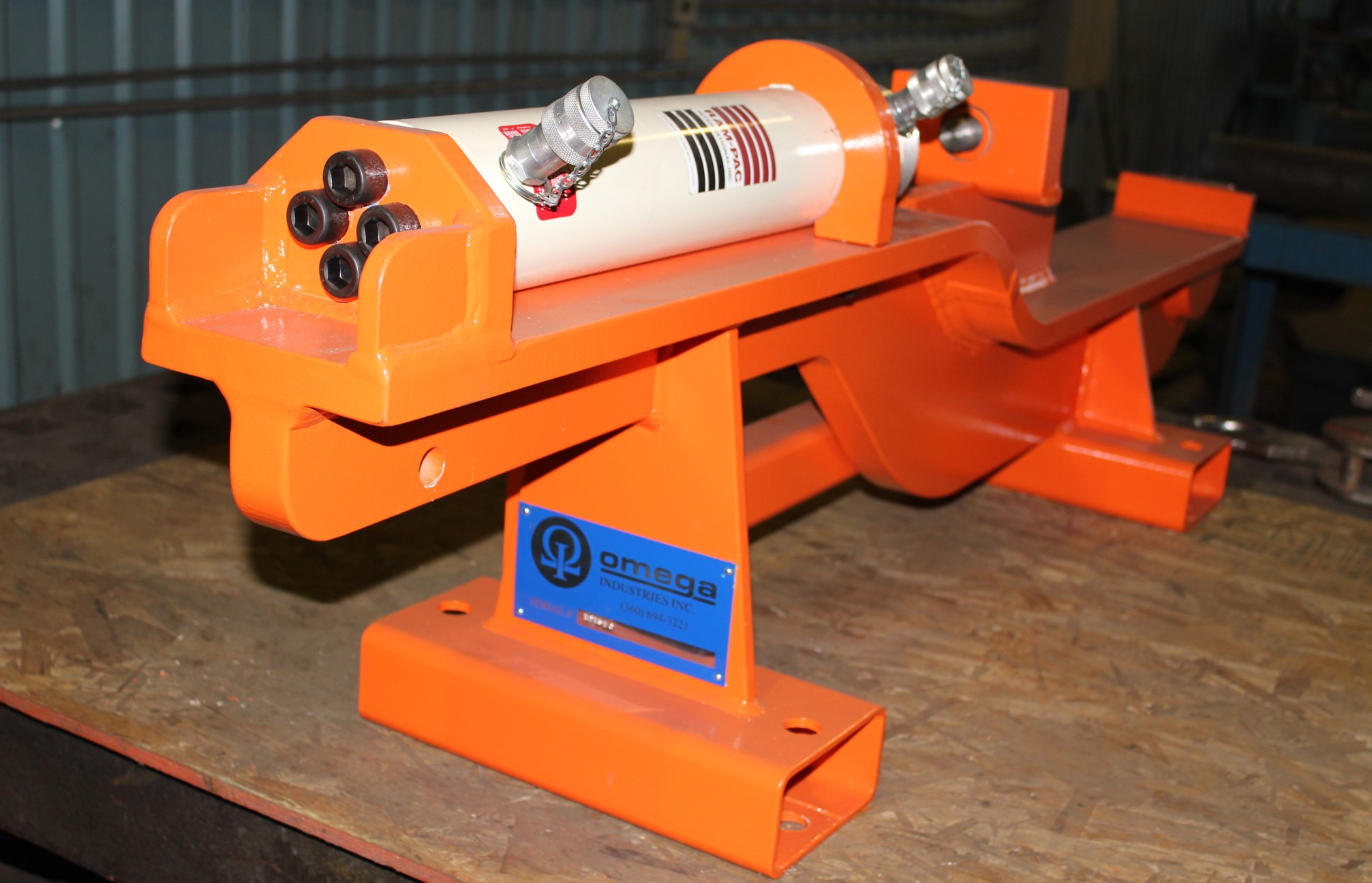 Hydraulic Pin Pusher