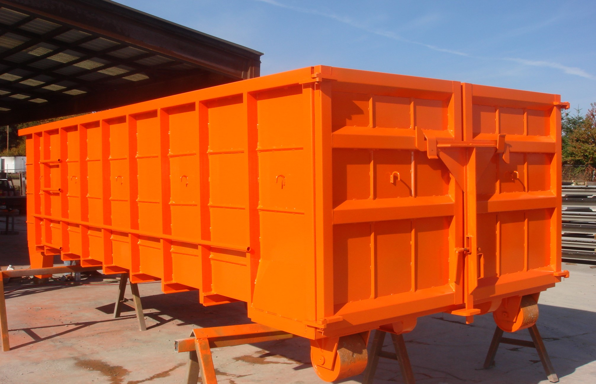 Steel Recycling Bin