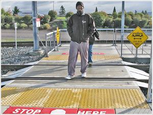 ADA Pedestrian Crossing
