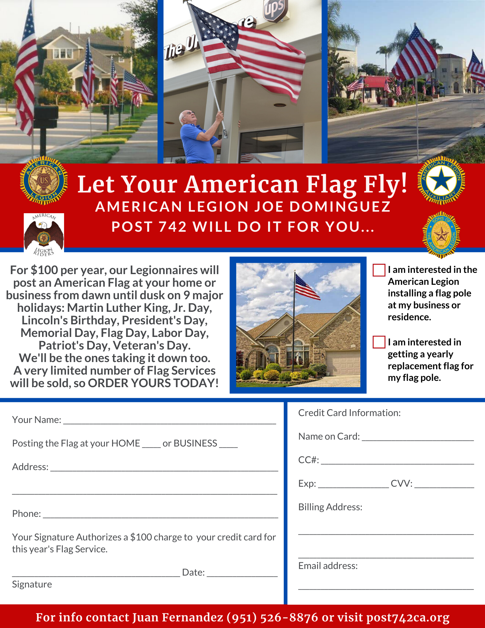 Let Your Americanism Fly!