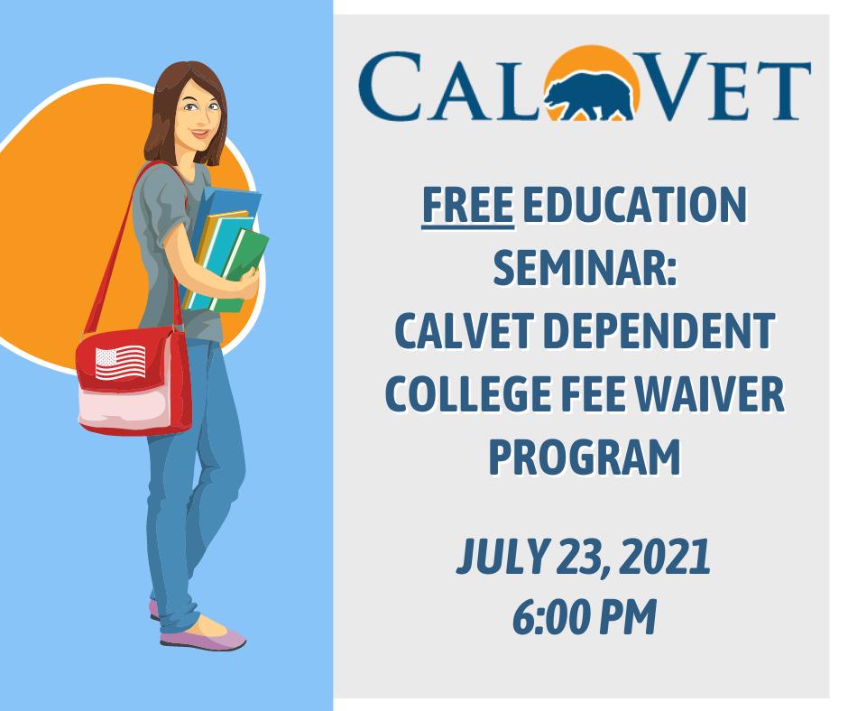 Copy of CalVet Ed Seminar