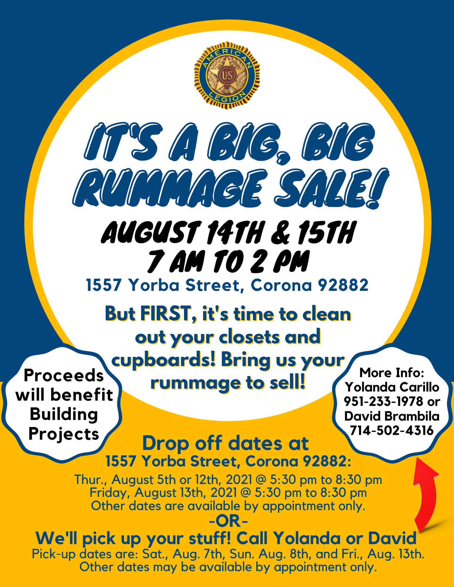 Rummage Sale! (1)