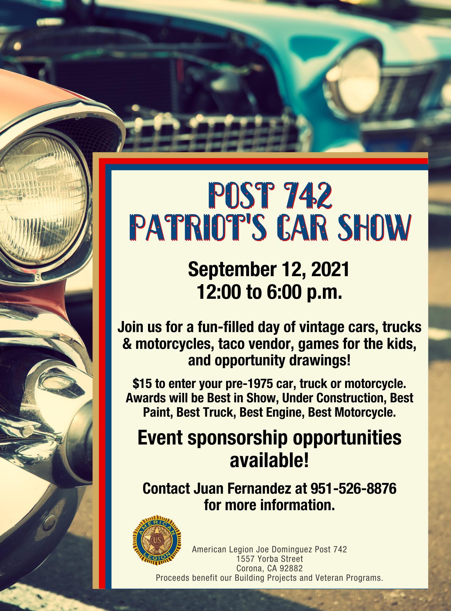 Post 742 car show (2)