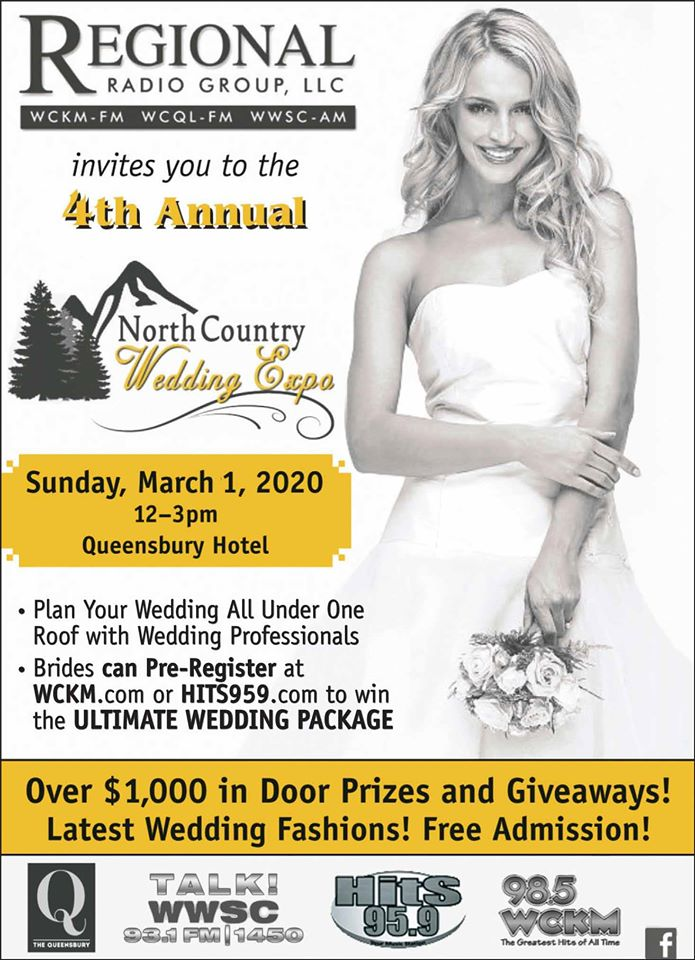 North Country Wedding Expo @ The Queensbury Hotel