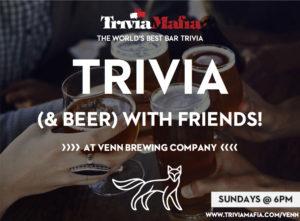 TRIVIA MAFIA! @ Venn Brewing Company