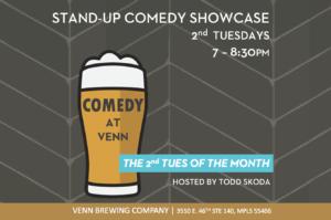 COMEDY AT VENN! @ Venn Brewing Company
