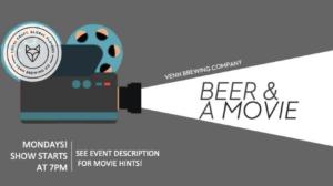 MOVIE NIGHT! @ Venn Brewing Company