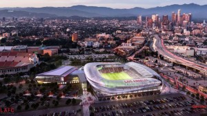 L.A. expansion soccer team plans new stadium on Sports Arena site