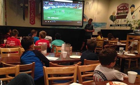 Legacy holds goalkeeper analysis night for U-10 to U-18 goalkeepers