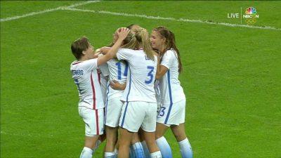U.S. Women Defeat France 1-0