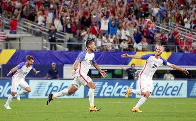 The Deuce is on the Loose: Texas Boy on Texan Stage Guides U.S. to Gold Cup Final