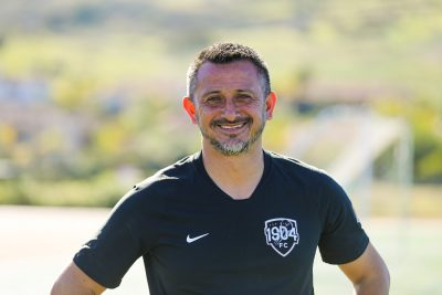 A Morning with 1904fc and  Head Coach Alexandre Gontran