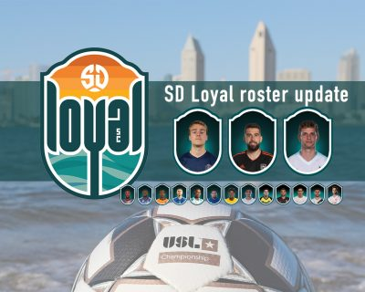 San Diego Loyal SC adds even more midfield strength with three new signings