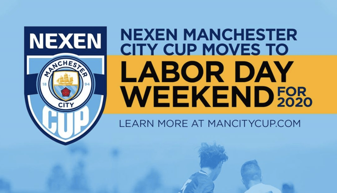 ManCity Cup 2020 moves to Labor Day Weekend