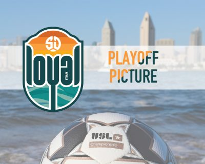 """""""So you're telling me there's a chance."""" SD Loyal still in the hunt for a playoff spot."""