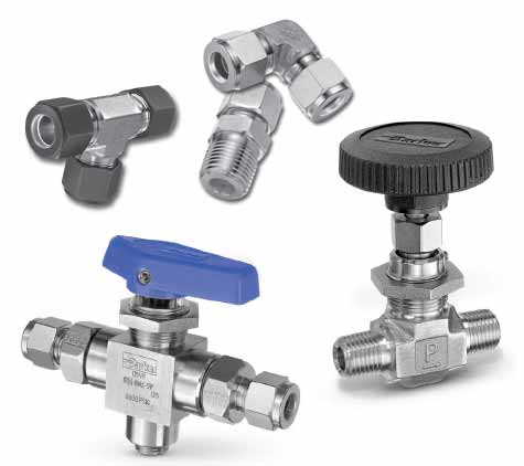 Ohio Valley Industrial Services - Product Category- Tube Fittings, Valves, and Related Materials