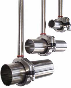 Ohio Valley Industrial Services- Behringer- Pipe and Tubing Supports- CH Series Compact Hygienic