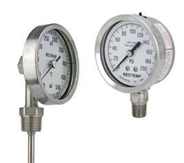 Ohio Valley Industrial Services- Industrial Gauges and Instrumentation- Temperature & Pressure Instrumentation