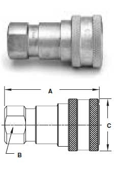 Ohio Valley Industrial Services- Parker Quick Coupling Division- General Purpose Couplings Female Thread