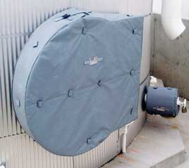 Ohio Valley Industrial Services- Product- HotCaps™ Removable Insulation Covers