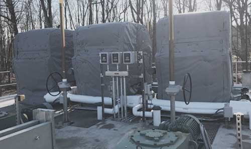 Ohio Valley Industrial Services- Industrial Enclosures- HotCaps™ Removable Insulation Covers