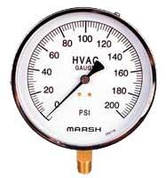 Ohio Valley Industrial Services- General Purpose and Liquid-Filled Pressure Gauges- HVAC/R