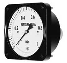 Ohio Valley Industrial Services- General Purpose and Liquid-Filled Pressure Gauges- Model No. GT15 - Pressure Gauges Square Type