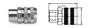 Ohio Valley Industrial Services- Parker Quick Coupling Division- Non-Spill SAE Straight Thread