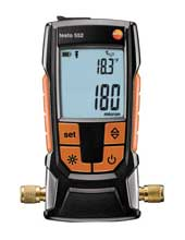 Ohio Valley Industrial Services- Hand Held Instruments- Testo 552- Digital Vacuum/Micron Gauge with Bluetooth