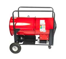 Ohio Valley Industrial Services- Tracing and Controls- Chromalox Portable High Temperature Blower Heater