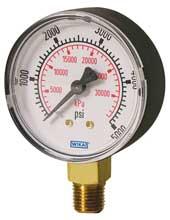 Ohio Valley Industrial Services- Level, Temperature, Flow, and Pressure Instrumentation- Bourdon Tube Pressure Gauge