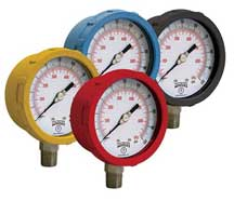 Ohio Valley Industrial Services- Winters Instruments- General Purpose and Liquid-Filled Pressure Gauges- PCC Color Pressure Gauges