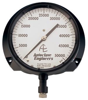 Ohio Valley Industrial Services- High Pressure Instrumentation- Parker Autoclave Engineers- Pressure Gauges