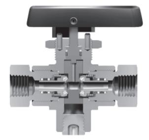 Ohio Valley Industrial Services- High Pressure Instrumentation- Parker Two-way HB4L design