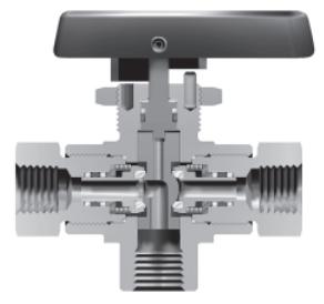 Ohio Valley Industrial Services- High Pressure Instrumentation- Parker Three-way HB4X design