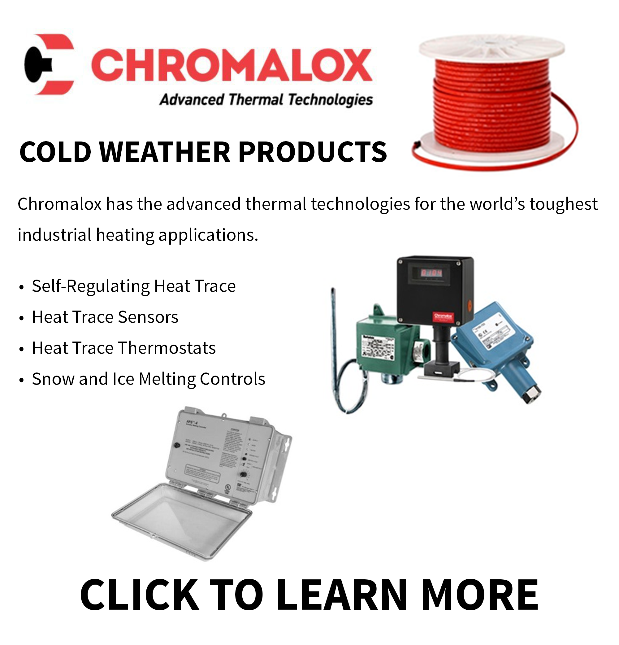 Ohio Valley Industrial Services- Chromalox Cold Weather Products