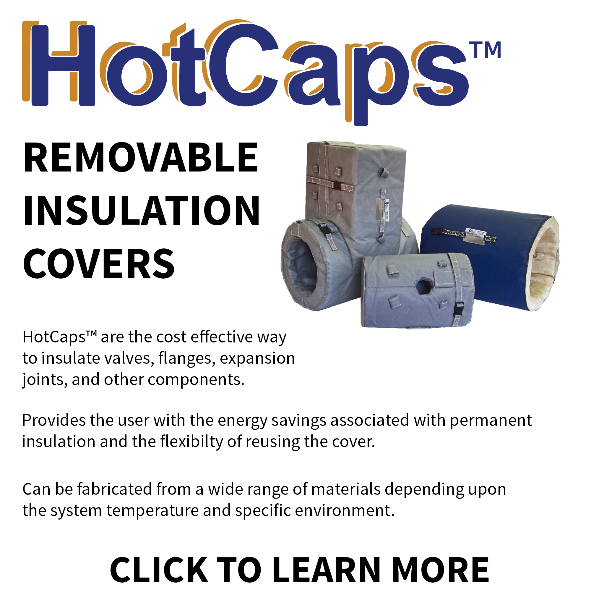 Ohio Valley Industrial Services- HotCaps™ Removable Insulation Covers