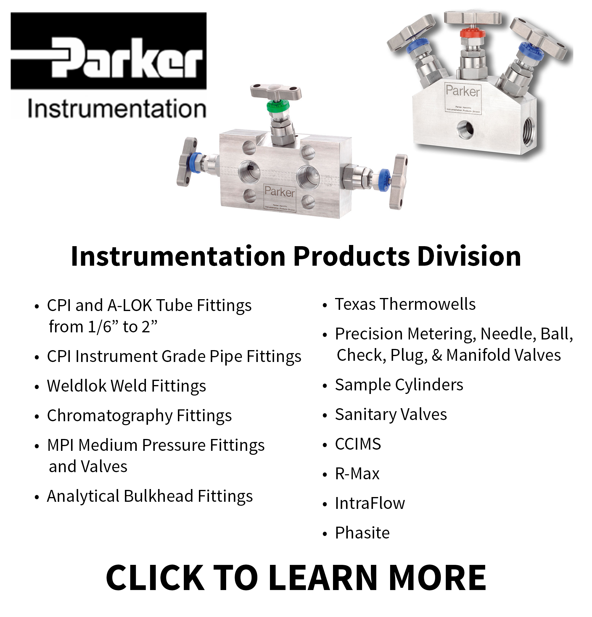 Ohio Valley Industrial Services- Parker Instrumentation Products Division