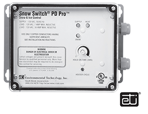 Ohio Valley Industrial Services- Tracing and Controls- Chromalox Snow and Ice Melting Controls- PD Pro Snow Switch