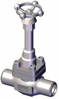 Ohio Valley Industrial Services- Instrumentation, Manifolds, and Valves- Marine Valves for Industrial Marine Applications- Bolted Bonnet - Extended and Non-Extended Stem DN15 - DN25 - Stainless Steel Spindle Needle Globe Valve