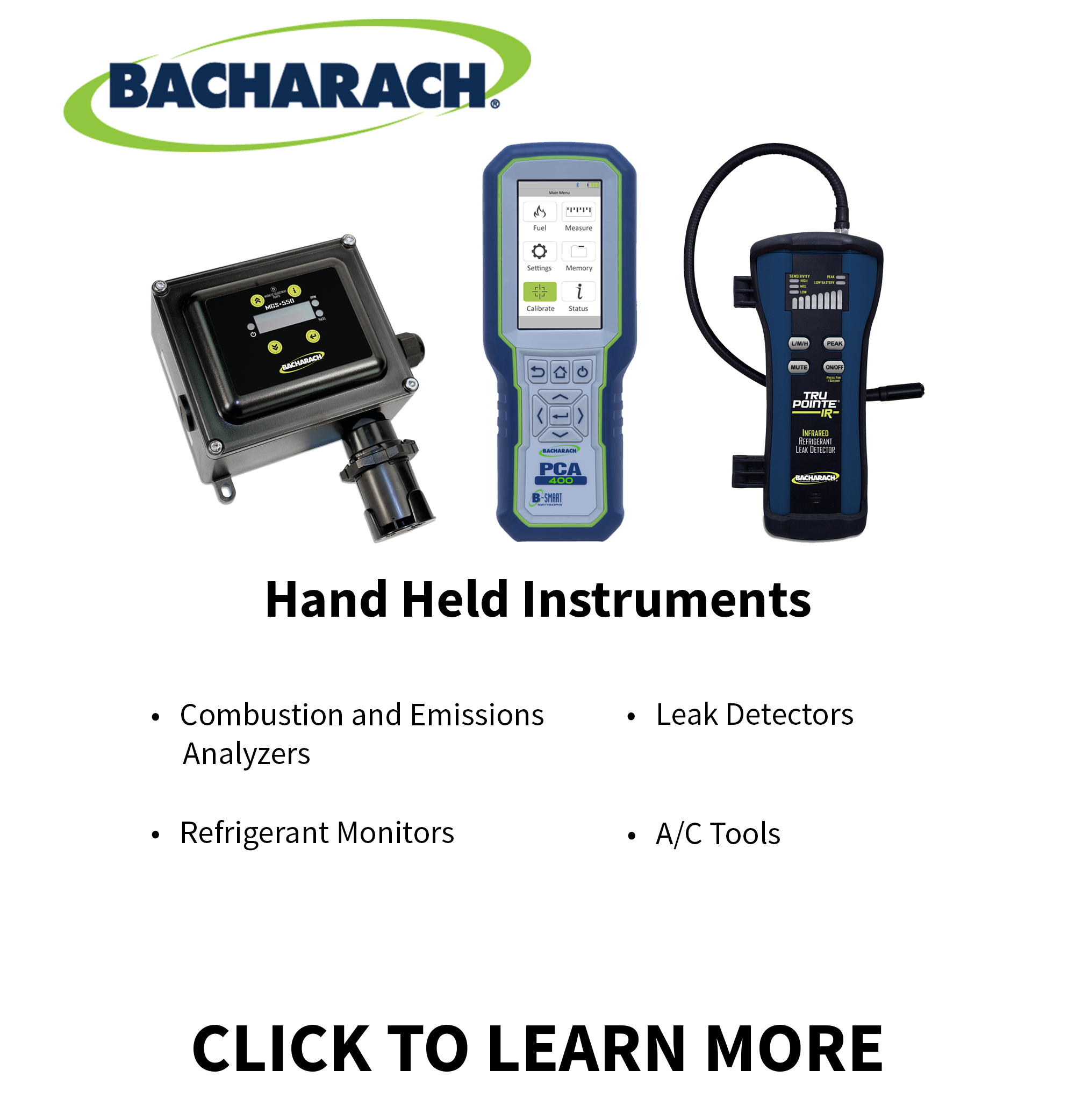 Ohio Valley Industrial Services- Bacharach Hand Held Instruments