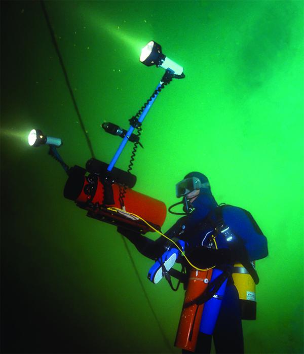 Coplin filming the Morrell wreck