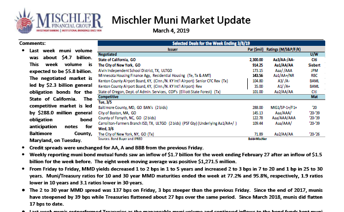 mischler-muni-market-new-issue-calendar-week-03-04-19