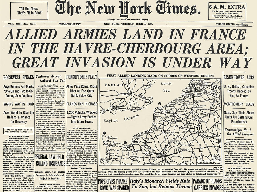 wwii-d-day-newspaper-1944
