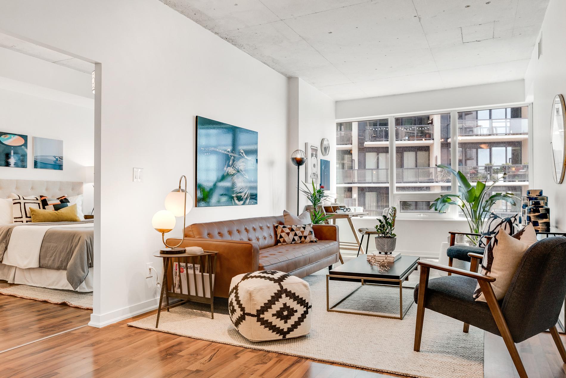 East Liberty Living Room