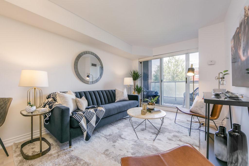 King Street West Living Room
