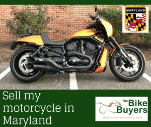 Sell my motorcycle Maryland - Thebikebuyers.com