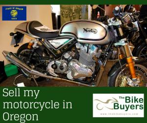 Sell my motorcycle Oregon - Thebikebuyers
